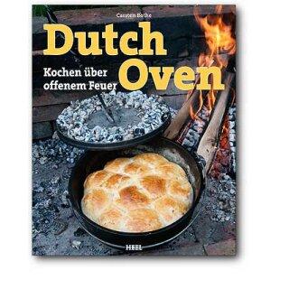 Dutch Oven. kochen über offenem Feuer