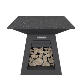 Quan Quadro Table Carbon