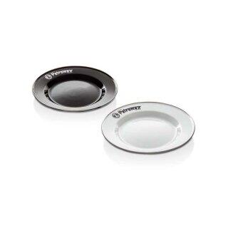 Petromax Emaille Teller schwarz 2 Stück