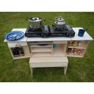 Willi Wood Camp Kitchen zum selber bauen