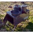 Winnerwell Fastfold Titanium Zeltofen und Campingkocher