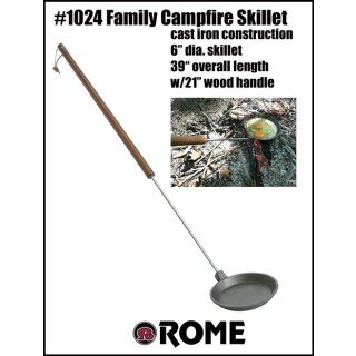 Campfire Skillet - Cast Iron