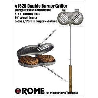 Double Burger Griller - Cast Iron