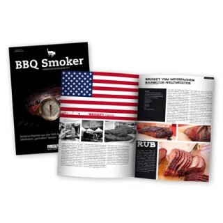 BBQ Smoker Fire&Food Bookazine No1